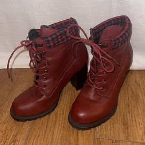 Dolce by Mojo Moxy Outfitter Round Toe Leather Ankle Boot size 7